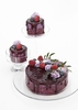 Naked Berry Mousse Mini Cake