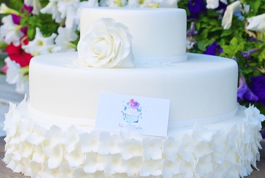 Wedding cake- White