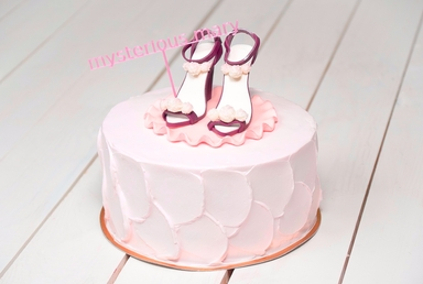 Lovely Shoes Cake