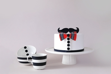 Mustaches Cake