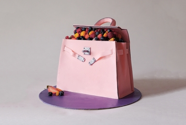 HERMÈS Kelly Berry Cake