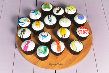 Children's drawings Cupcakes