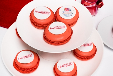 Red Brand Macarons