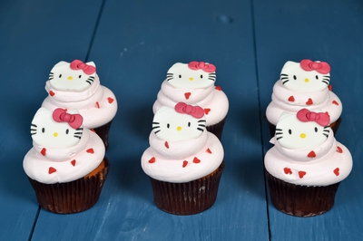 Baby Kitty Cupcakes