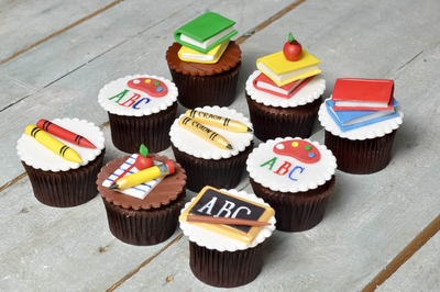 School Children Cupcakes