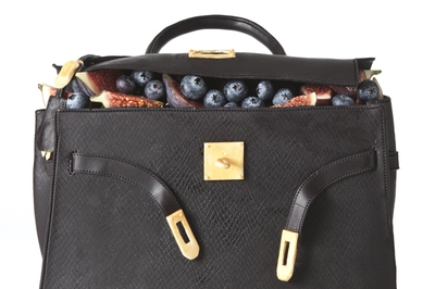 HERMÈS Kelly Black Cake