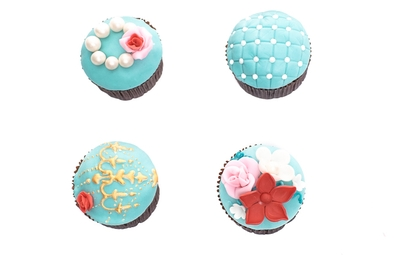 Blue&Pink Cupcake Set
