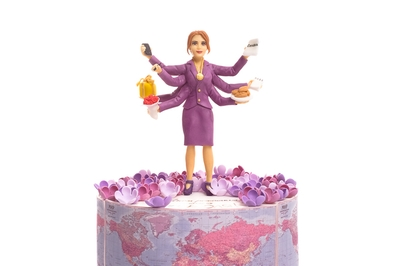 Multi-Armed Woman Cake