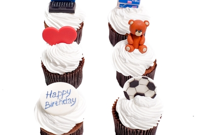 Kids Cupcakes with Teddy