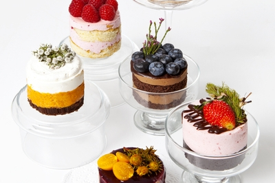 Assorted Naked Mini Cakes
