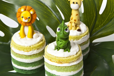 Tropical Naked Mini Cake